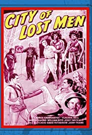 City of Lost Men Poster