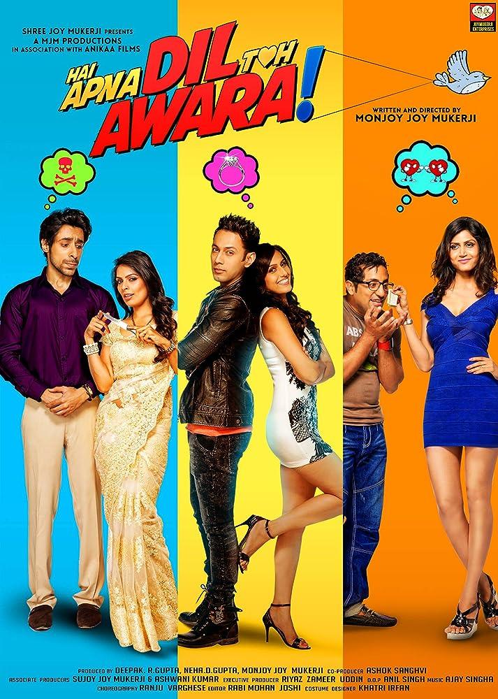 Hai Apna Dil Toh Awara (2016) Hindi HDTVRip x264 700MB