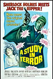 A Study in Terror(1965) Poster - Movie Forum, Cast, Reviews