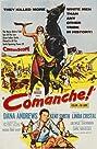 Comanche (1956) Poster