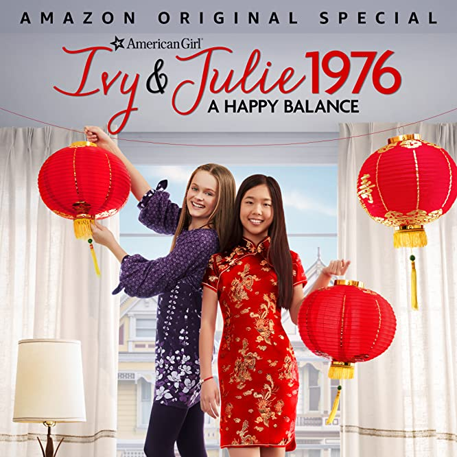 Hannah Nordberg and Nina Lu in An American Girl Story - Ivy & Julie 1976: A Happy Balance (2017)