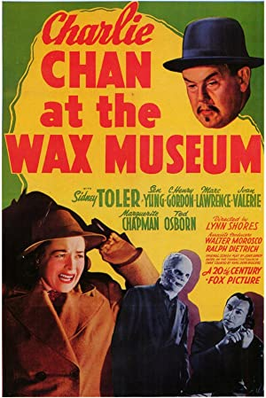 Charlie Chan at the Wax Museum Poster