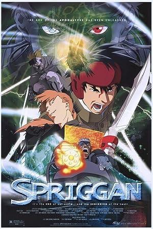 Spriggan poster