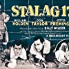 William Holden, Harvey Lembeck, Otto Preminger, Robert Strauss, and Don Taylor in Stalag 17 (1953)