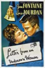 Letter from an Unknown Woman (1948) Poster