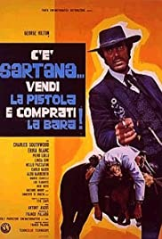 Sartana's Here... Trade Your Pistol for a Coffin Poster