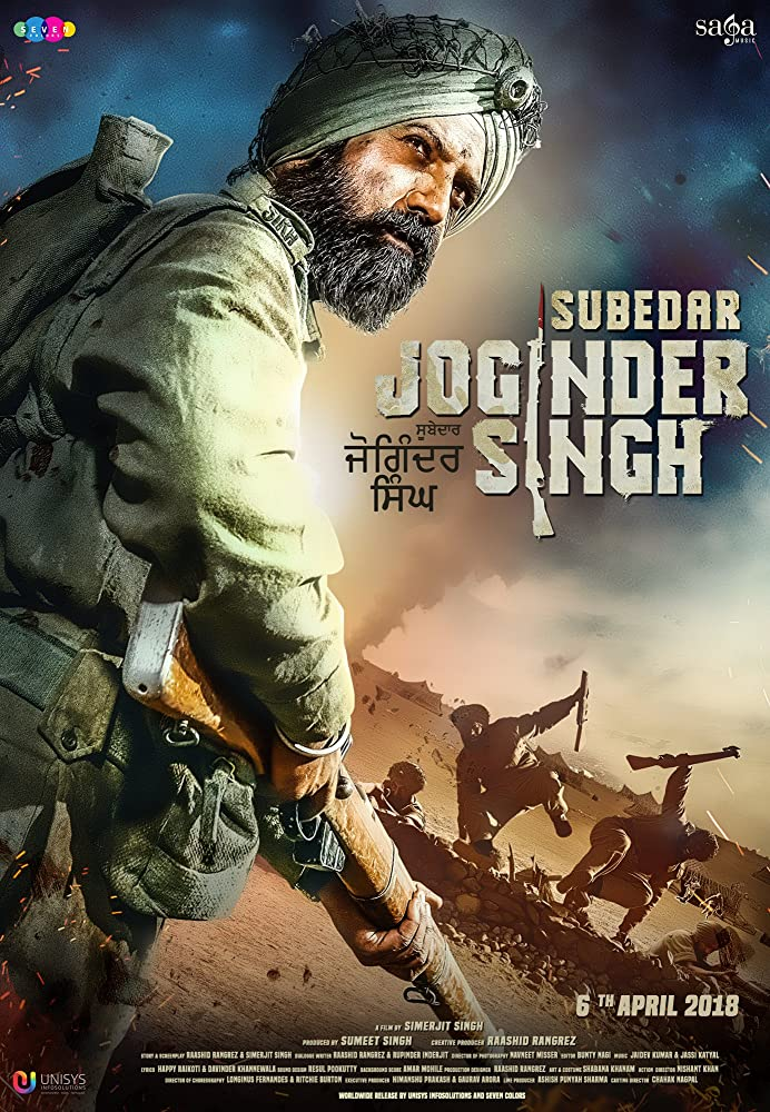 Subedar Joginder Singh (2018) Punjabi 720p HDRip 1.2GB  Free Download
