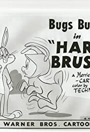 Hare Brush Poster