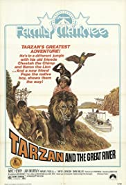 Tarzan and the Great River Poster
