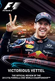 Victorious Vettel Poster