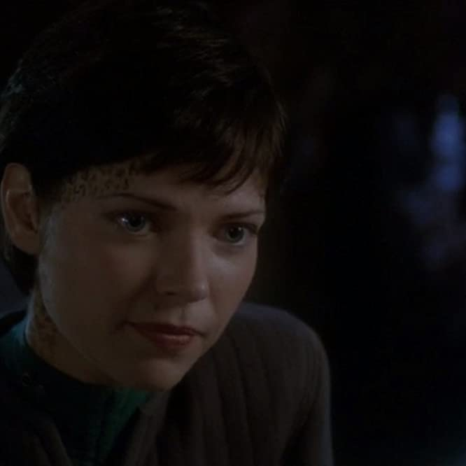 Nicole de Boer in Star Trek: Deep Space Nine (1993)