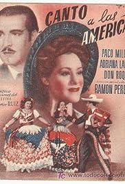 Canto a las Américas Poster