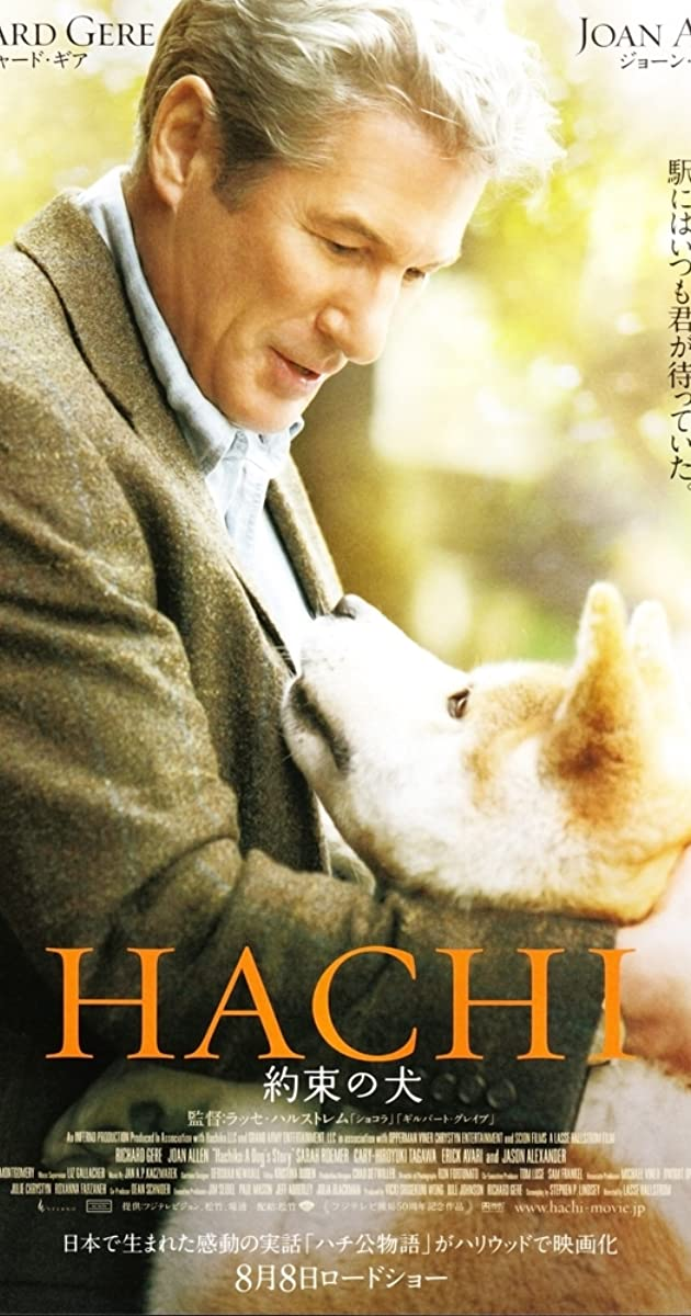 hachiko a dogs tale This heartwarming true story is an american adaptation of a japanese tale about a loyal dog named hachiko this very special friend would accompany his master to the train station every day and return each afternoon to greet him after work.