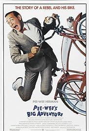 Pee-wee's Big Adventure Poster