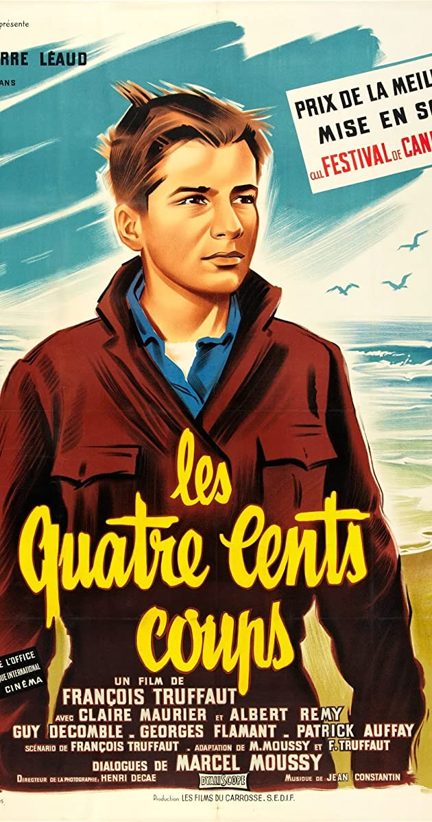 The 400 blows 1959 imdb - Cinema les 400 coups villefranche ...