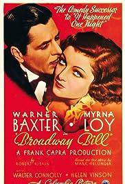 Broadway Bill Poster