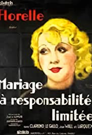 Mariage à responsabilité limitée Poster
