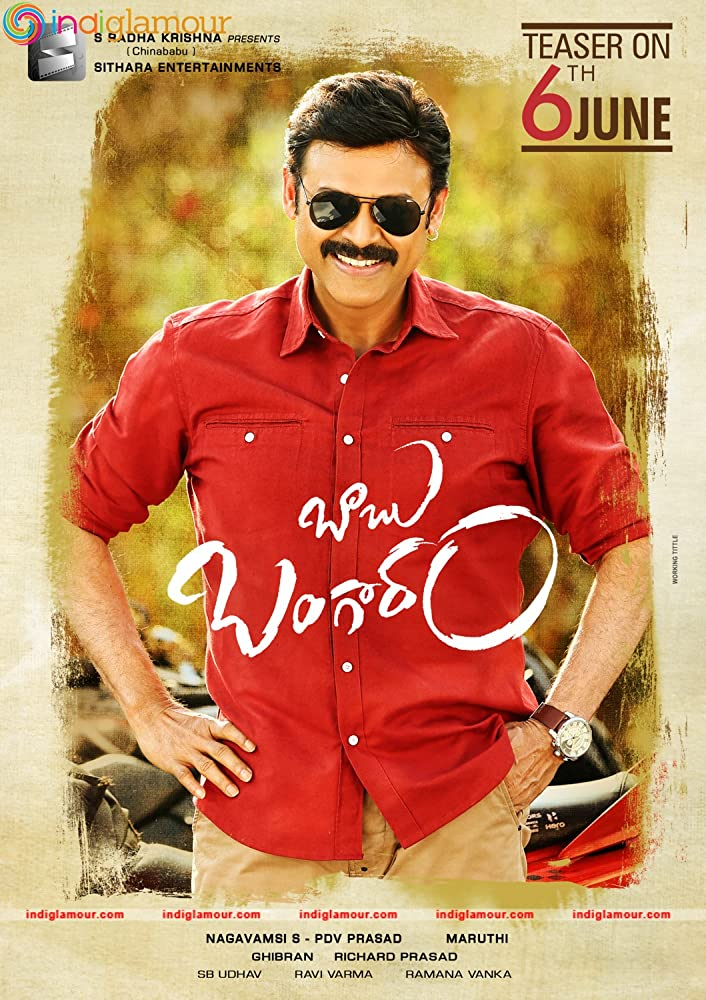 Babu Bangaram (2016) Dual Audio Hindi 400MB UNCUT HDTV 480p