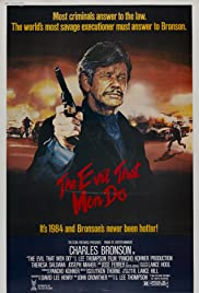 The Evil That Men Do Poster