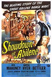 Showdown at Abilene Poster