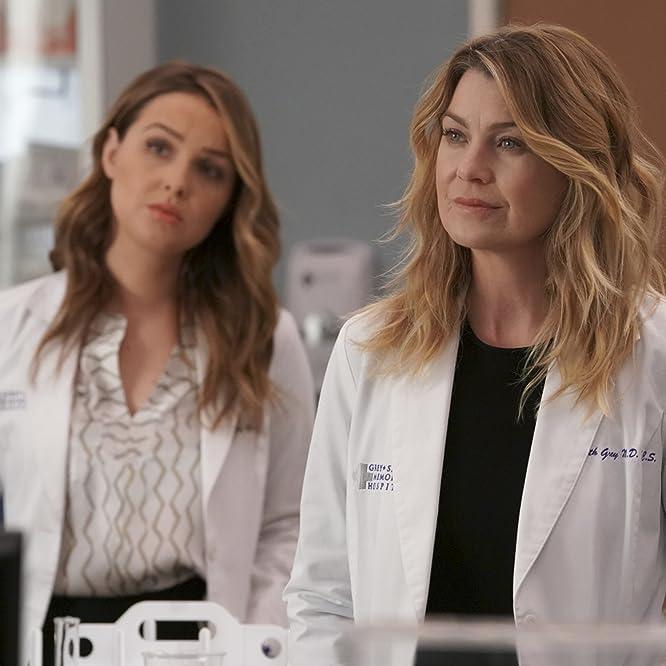 Ellen Pompeo and Camilla Luddington in Grey's Anatomy (2005)