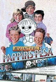 Ævintýri Pappírs Pésa Poster