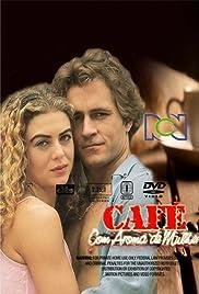 Café con aroma de mujer Poster