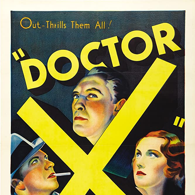 Lionel Atwill, Lee Tracy, and Fay Wray in Doctor X (1932)