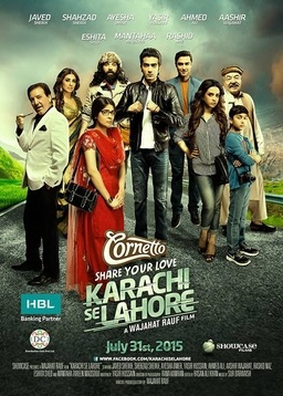 Karachi se Lahore (2015 Pakistani) Watch Full Movie Online Esub