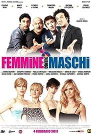 Femmine contro maschi Poster