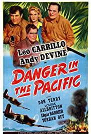 Danger in the Pacific Poster