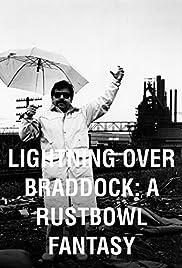 Lightning Over Braddock: A Rustbowl Fantasy Poster