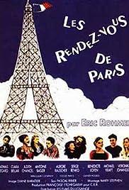 Les rendez-vous de Paris Poster