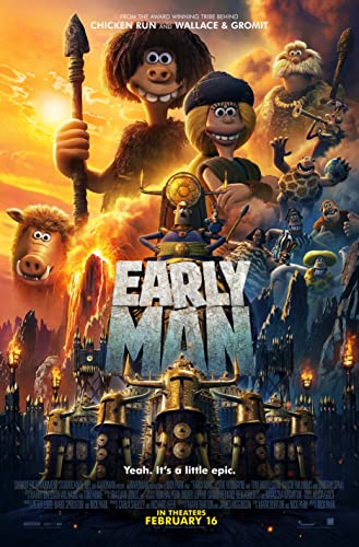Poster Film Early Man