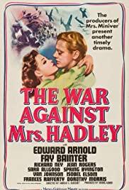 The War Against Mrs. Hadley (1942) Poster - Movie Forum, Cast, Reviews