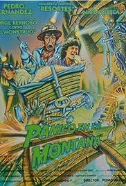 Pánico en la montaña Poster
