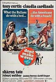 Don't Make Waves Poster