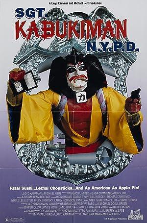 Sgt. Kabukiman N.Y.P.D. poster