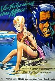 Verführung am Meer Poster