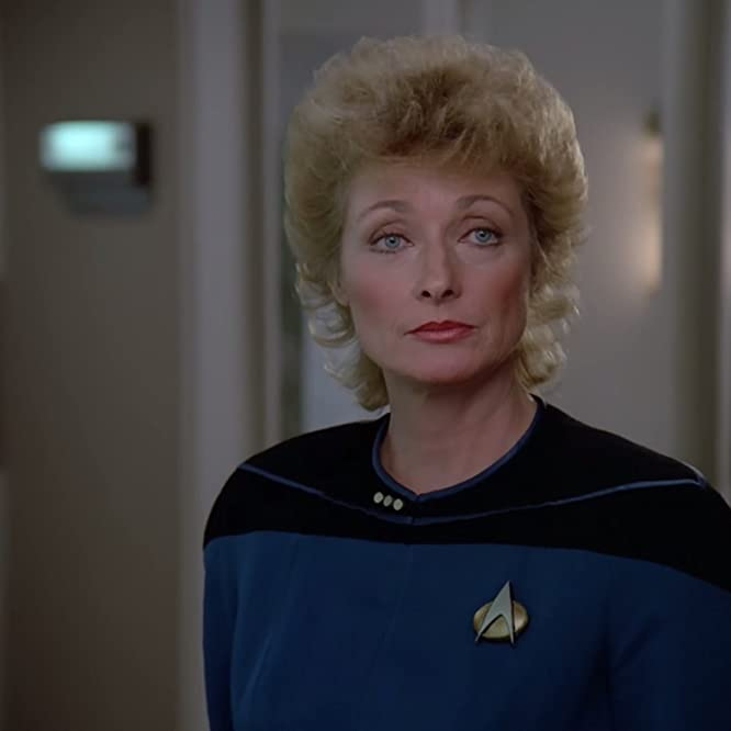 Diana Muldaur in Star Trek: The Next Generation (1987)