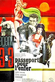 Agent 3S3: Passport to Hell Poster