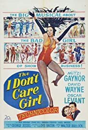 The I Don't Care Girl Poster