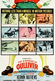 The 3 Worlds of Gulliver Poster