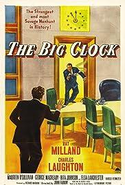 The Big Clock Poster