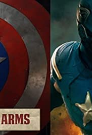 Crafting Captain America's Shield Poster