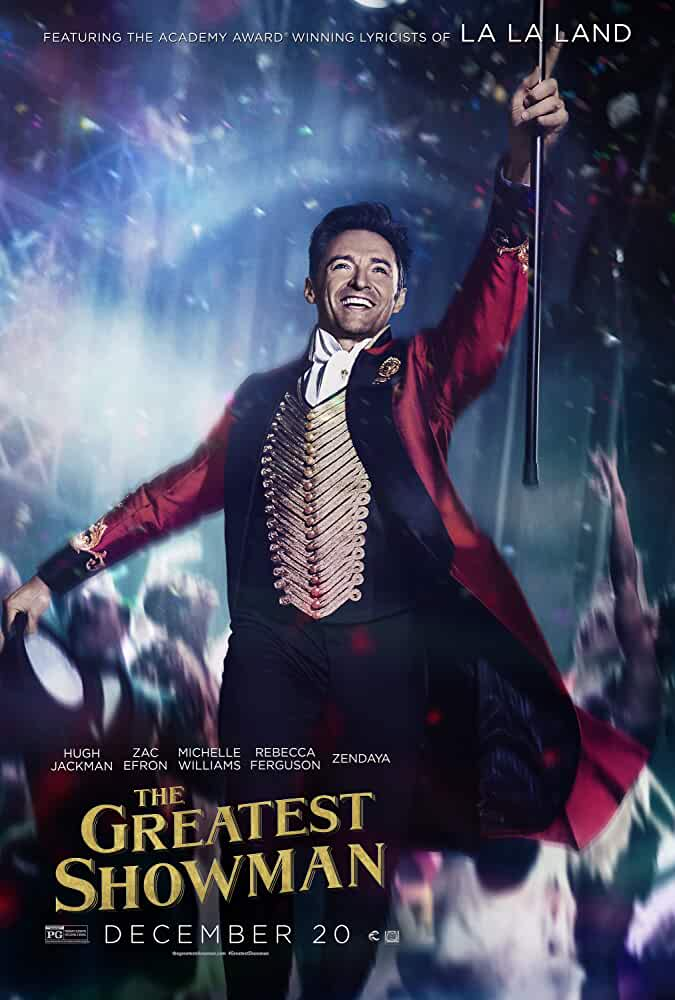 The Greatest Showman (2017) Full English Movie 720p BluRay Download