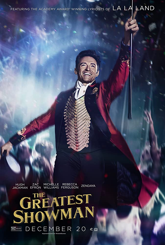 The Greatest Showman 2017 Dual Audio 1080p BluRay ORG [Hindi – English] MSubs