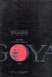VI premios Goya Poster