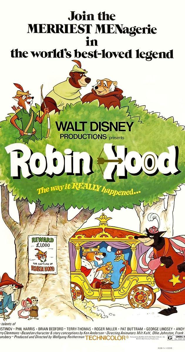 Robin hood 1973 imdb fandeluxe Image collections