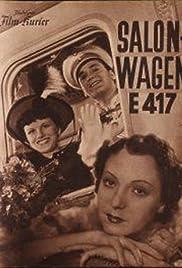 Salonwagen E 417 Poster
